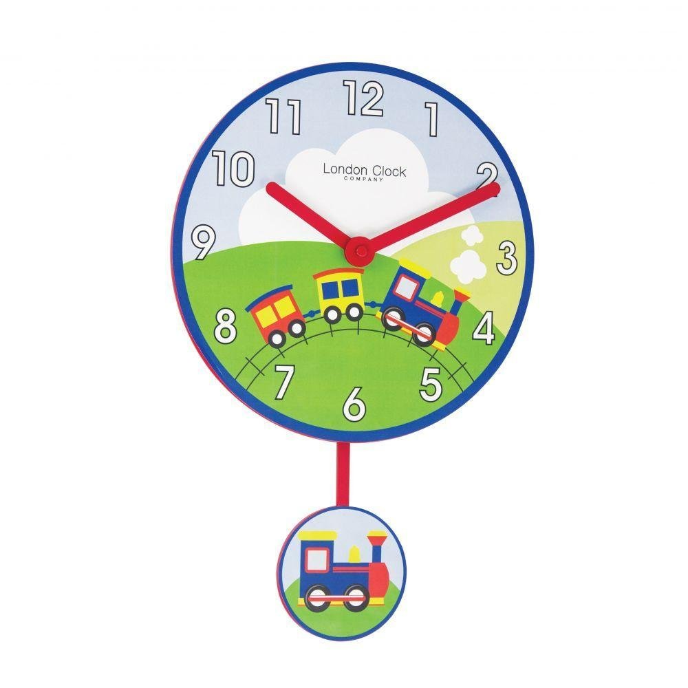 London Clock Train Childrens Wall Clock Guest And Philips