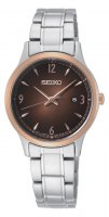 Seiko - Stainless Steel Bracelet Strap Watch