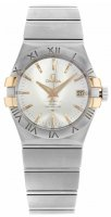 Omega - Constellation, Stainless Steel/Tungsten - Rose Gold - Automatic Watch, Size 35mm