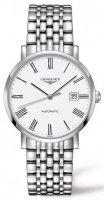 Longines - Elegant, Stainless Steel - Automatic Watch, Size 39mm
