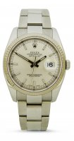 Rolex - Datejust, Oyster Set, Stainless Steel/Tungsten - Watch, Size 36mm