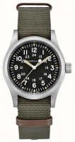 Hamilton - Khaki, Stainless Steel Mechanical Field Watch
