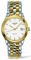 Longines - Flagship, Stainless Steel - Yellow Gold Plated - Automatic Watch, Size 26mm