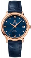 Omega - Deville, Rose Gold - Leather - Automatic Coaxial, Size 33mm