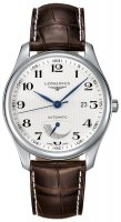 Longines - Master Collection, Stainless Steel/Tungsten - Leather - Automatic Power Reserve, Size 40mm