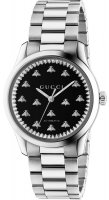Gucci - G-Timeless, Black Onyx Set, Stainless Steel/Tungsten - Glass/Crystal - Automatic Watch