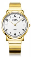 Rotary - Expander, Yellow Gold Plated Quartz Watch