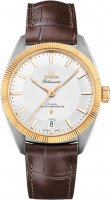 Omega - Globemaster, Yellow Gold - Stainless Steel/Tungsten - Leather master chronometer , Size 39mm