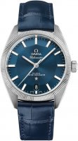 Omega - Globemaster, Stainless Steel/Tungsten - Leather - Master Chronometer, Size 39mm