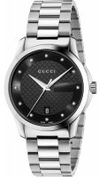 Gucci - G-Timeless, Stainless Steel/Tungsten Black Dial Watch