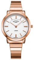 Rotary - Expander, Rose Gold Plated Quartz Watch