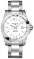 Longines - Conquest, Stainless Steel - Crystal Glass - Automatic watch, Size 39mm