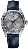 Omega - Globemaster, Stainless Steel/Tungsten - Leather - Master Chronometer Annual Calender, Size 41mm