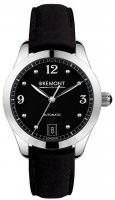 Bremont - Solo, Stainless Steel/Tungsten - Leather - Crystal/Glass Auto Watch, Size 32mm