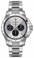 Longines - Conquest, Stainless Steel Chronograph Automatic Watch