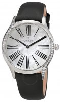 Omega - Tresor, Stainless Steel/Tungsten - Fabric - Diamond Shoulder, Size 36mm