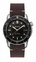 Bremont - Supermarine, Stainless Steel/Tungsten - Leather - Automatic, Size 43mm