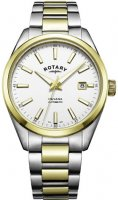 Rotary - Havana, Stainless Steel/Tungsten Auto watch 40mm