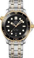 Omega - Seamaster, Stainless Steel/Tungsten - Yellow Gold - MC , Size 42mm