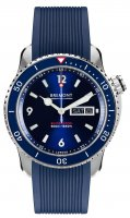 Bremont - Supermarine, Stainless Steel/Tungsten - Plastic/Silicone - Automatic, Size 43mm