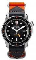 Bremont - Supermarine, Stainless Steel/Tungsten - Fabric - Automatic, Size 43mm