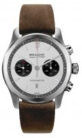 Bremont - ALT1-C, Stainless Steel/Tungsten - Leather - Chronograph , Size 43mm