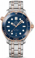 Omega - Seamaster, Stainless Steel/Tungsten - Rose Gold - MC , Size 42mm