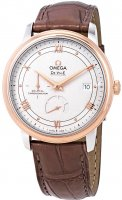 Omega - Deville, Rose Gold - Leather - automatic Coaxial, Size 40mm