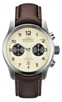 Bremont - ALT1-C, Stainless Steel/Tungsten - Leather - Automatic, Size 43mm