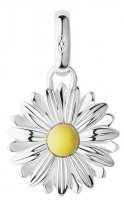 Links of London - Sterling Silver and Enamel Daisy Charm
