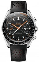 Omega - Speedmaster, Stainless Steel/Tungsten - Plastic/Silicone - master chronometer, Size 44mm