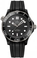 Omega - Seamaster, Plastic/Silicone - Crystal/Glass - Stainless Steel/Tungsten Diver Automatic, Size 44mm