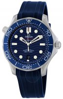 Omega - Seamaster, Stainless Steel/Tungsten - Plastic/Silicone - MC , Size 42mm