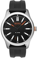 Hugo Boss - Boss Orange, Dublin, Stainless Steel and Black Silicone Watch