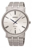 Seiko - Gents Premier, Stainless Steel Watch Date Circle Watch