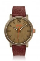 Hugo Boss - Boss Orange, Bilbao, Stainless Steel and Brown Leather Watch