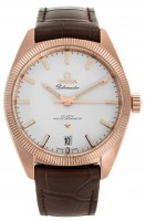 Omega - Globemaster, Rose Gold - Leather - master chronometer, Size 39mm