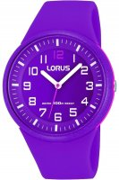 Lorus - Purple Rubber Watch