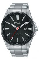 Pulsar - Stainless Steel Solar Bracelet Watch