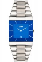 Storm - Omari XL Lazer Blue, Stainless Steel Blue Dial Watch