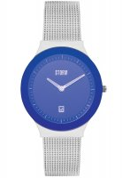Storm - Sotec Lazer Blue, Stainless Steel Blue Dial Watch