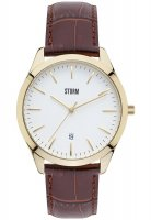 Storm - Men's, Ortus Gold, Leather Strap Watch