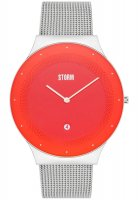 Storm - Stainless Steel Terelo Red Watch with Date