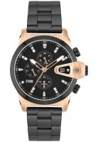 Storm - Men's, Manator, Rose Gold Plated and Stainless Steel Watch