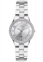Storm - Ladies', Slim X Crystal Silver, Crystal Set, Stainless Steel Watch
