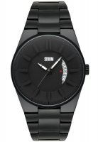 Storm - Men's, Blackout Black, Stainless Steel Black Watch