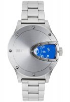 Storm - Stainless Steel Magnitor Lazer Blue Watch