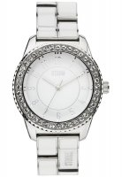 Storm - Ladies', Neona White, Crystal Set, Stainless Steel Watch