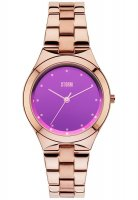 Storm - Ladies' Amella, Rose Gold Plated Purple Dial Watch
