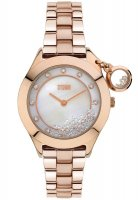 Storm - Ladies', Sparkelli, Crystal Set, Rose Gold Plated Mother of Pearl Dial Watch